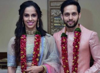 Saina Nehwal enters the Just married club!