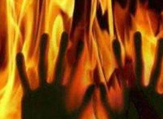Women set ablaze by Neighbor in robbery bid