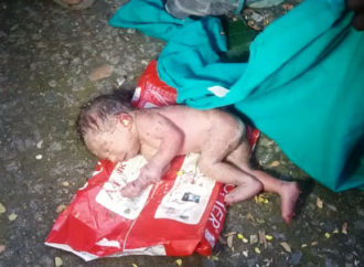 Baby Girl found in a Dustbin in Vizag